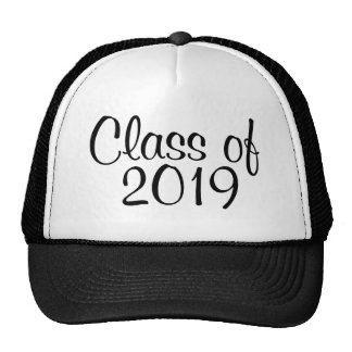 Class of 2019 hats
