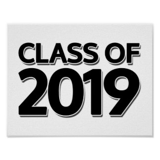 Class of 2019 poster