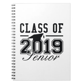 Class Of 2019 Senior Spiral Notebook