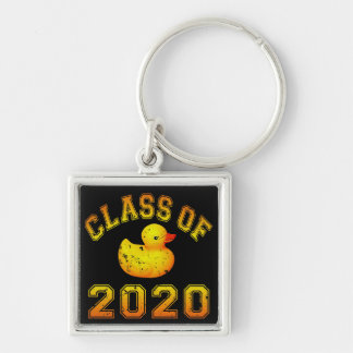 Class Of 2020 Rubber Duckie - Yellow Key Chain