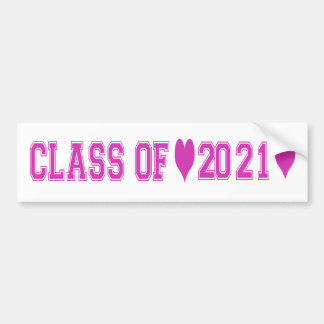 Class of 2021 Bumper Stickers