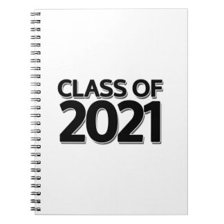 Class of 2021 note books