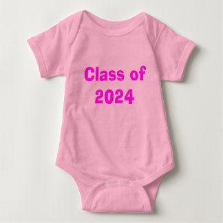Class of 2024 baby bodysuit