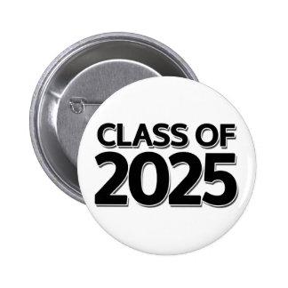 Class of 2025 6 cm round badge