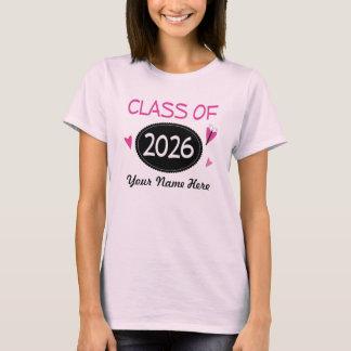 Class of 2026 School Pride T-Shirt