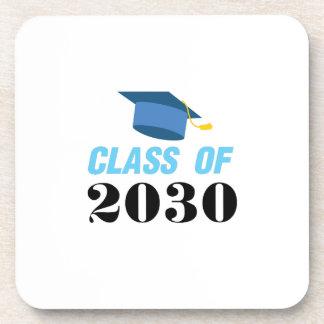 Class of 2030 Girl Boy Coaster