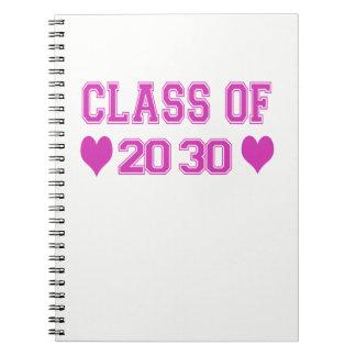 Class Of 2030 Notebook