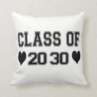 Class Of 2030 Pillow