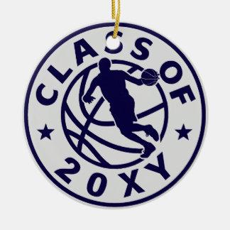 Class of 20?? Basketball Round Ceramic Decoration