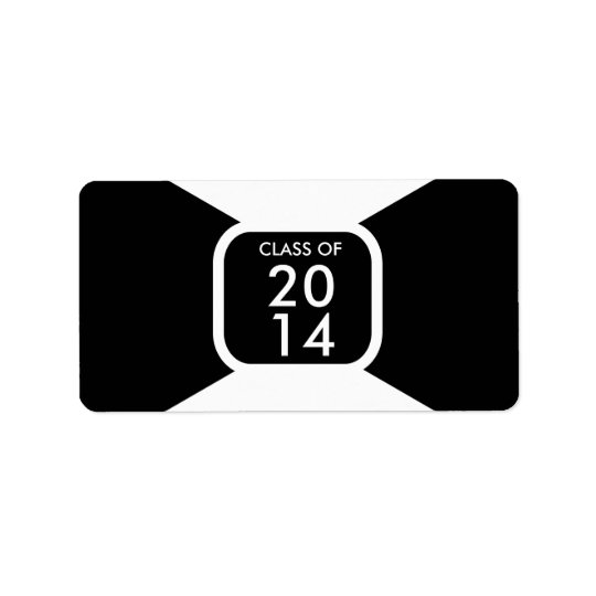 Class of 20** year template address label