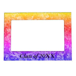 Class of 20XX rainbow magnetic frame