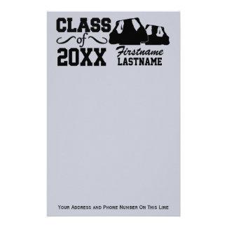 Class of ANY year custom stationary Customised Stationery