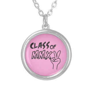 Class of MMXV 2015 Necklace Hand Peace Sign