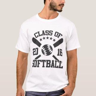 CLASS OF SOFTBALL 2016 T-Shirt