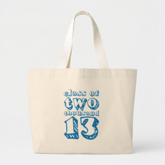 Class of two thousand 13 - Blue Jumbo Tote Bag