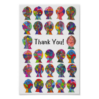 Class Thank You - Caldwell Poster