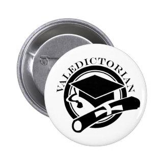 Class Valedictorian Gift 6 Cm Round Badge