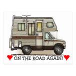 ClassC Camper RV Magnets Postcard