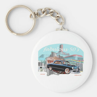Classic_1950_Ford Key Chains
