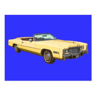 Classic 1975 Cadillac Eldorado Convertible Postcard