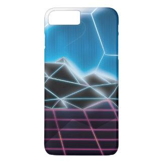 Classic 1980s Futuristic Neon Pattern iPhone 7 Plus Case