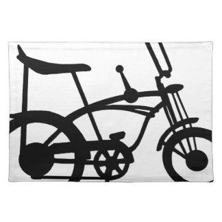 CLASSIC 60'S BIKE BICYLE SCHWINN STINGRAY BIKE PLACEMAT