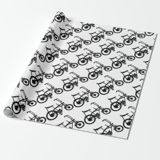 CLASSIC 60'S BIKE BICYLE SCHWINN STINGRAY BIKE WRAPPING PAPER