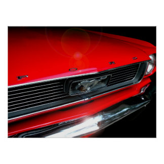 Classic 60s Muscle Car  Poster