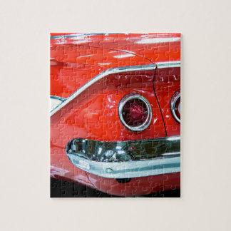 Classic 61 Chevy Impala Jigsaw Puzzle