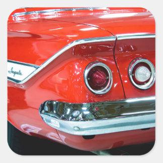 Classic 61 Chevy Impala Square Sticker