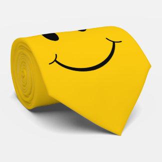 Classic 70's Smiley Happy Face Tie