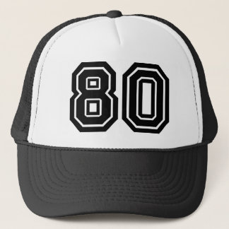 Classic 80th Birthday Trucker Hat
