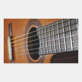 Classic Acoustic Guitar Sticker