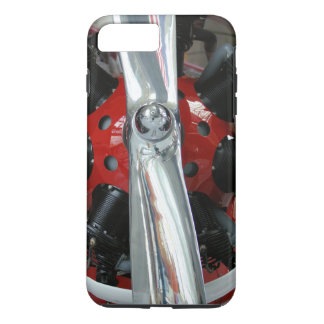 Classic Airplane Propeller and Radial Engine iPhone 7 Plus Case