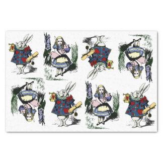 Classic Alice in Wonderland & White Rabbit Tissue Paper