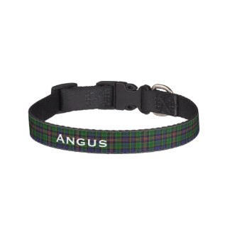 Classic Allison Tartan Plaid Custom Dog Collar