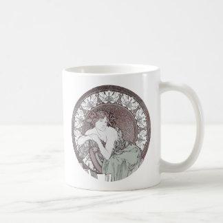 Classic Alphonse Mucha Goddess Mugs