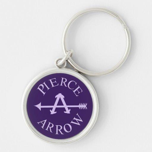 Classic american car logo pierce arrow keychains zazzle for American classic logo