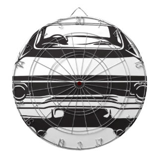 Classic American Charger Dartboard