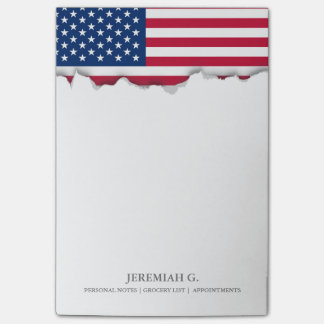 Classic American Flag Post-it Notes