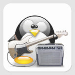 Classic American Guitar and Amplifier Tux Stickers