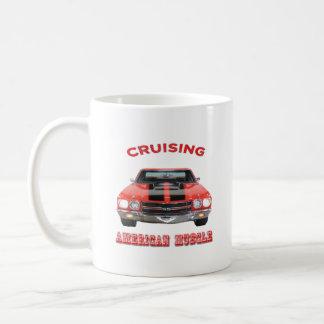 Classic American Muscle Car Chevelle SS Coffee Mug