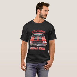 Classic American Muscle Car Chevelle SS T-Shirt