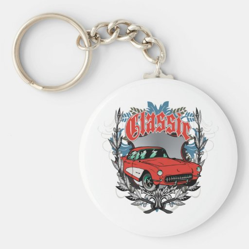 Classic American Muscle Car Keychains
