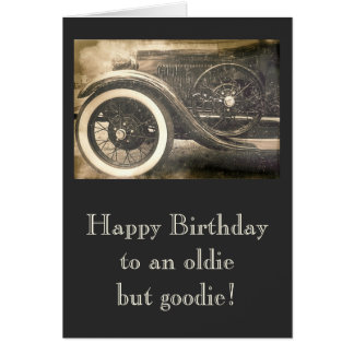 Classic Antique Car Cars Custom Note Card