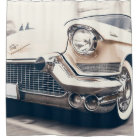 Classic Antique Retro Car Shower Curtain