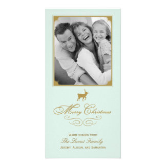 Classic Antlers Holiday/Christmas Photo Card