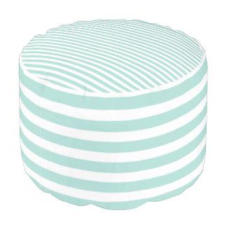 Classic-Aqua-White-Stripes-Combo--Pouf Pouf