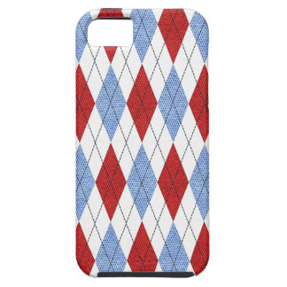 Classic Argyle Tough iPhone 5 Case