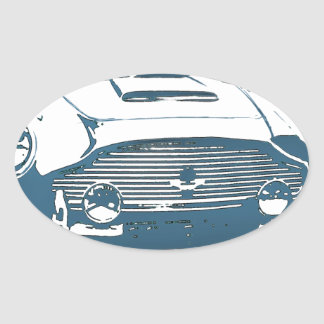 Classic Aston Oval Sticker